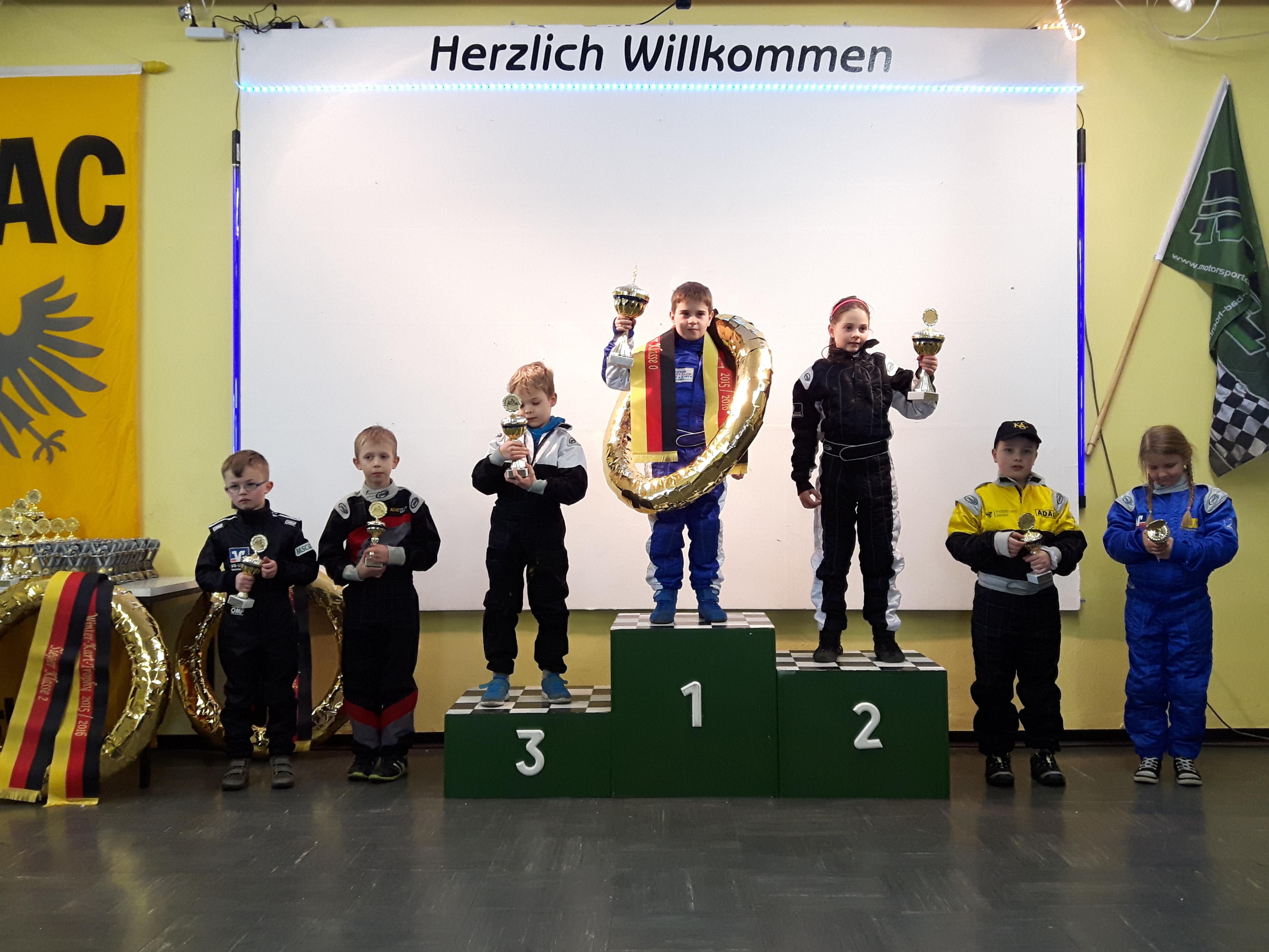 Konzer Kart-Team erfolgreich bei  der Winter-Trophy