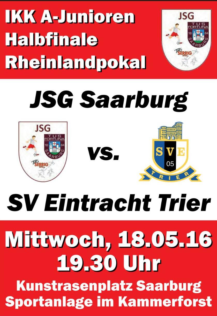 A- Junioren der JSG/Saarburg-Serrig im Halbfiniale