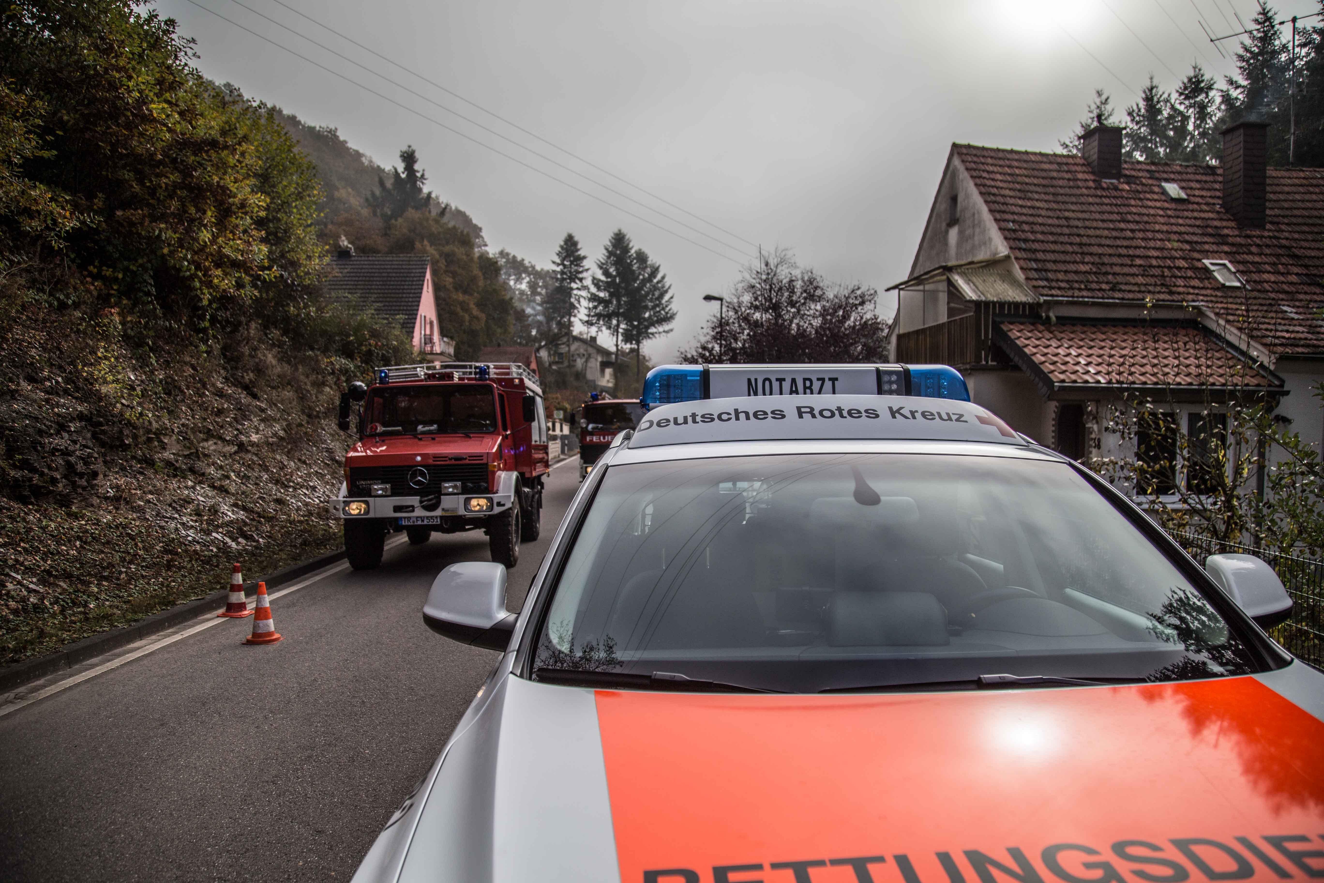 Essen verqualmt auf Herd – Feuerwehreinsatz in Saarburg