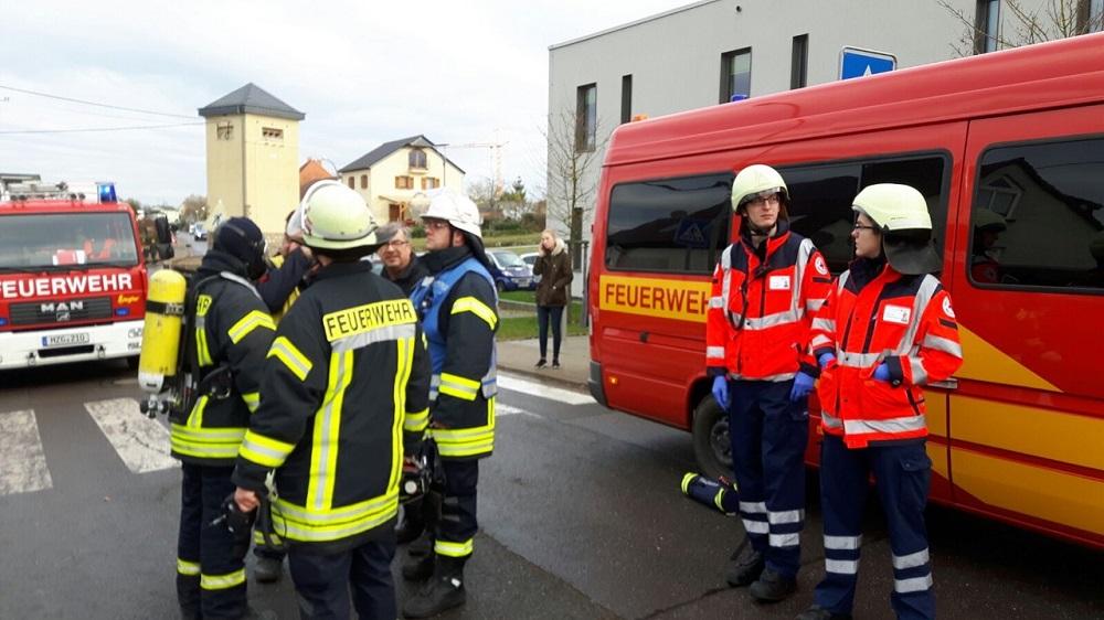 Wohnungsbrand in Perl-Besch am 11.12.2016