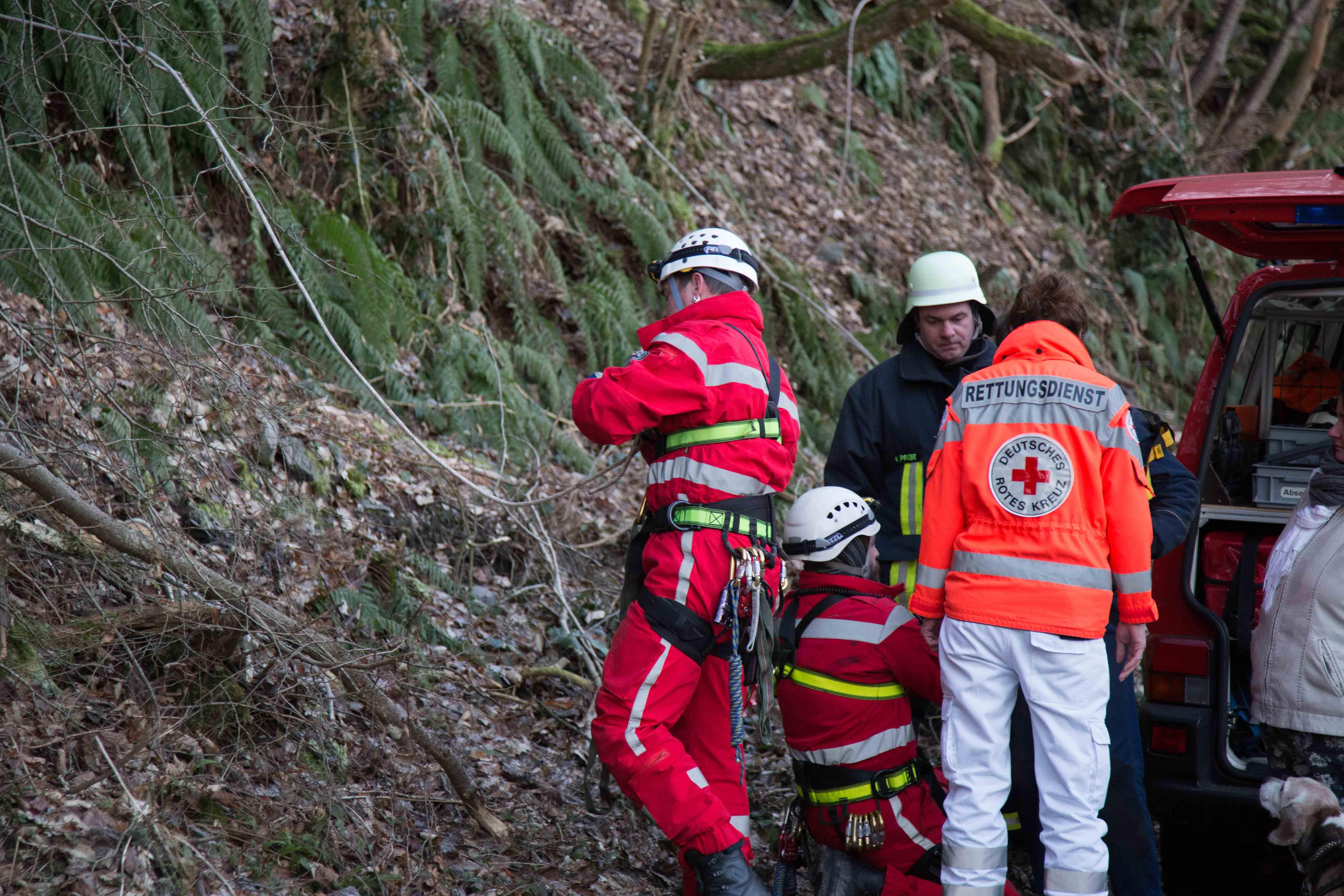 Photo of Aufwendige Rettungsaktion am Steilhang der Cloef