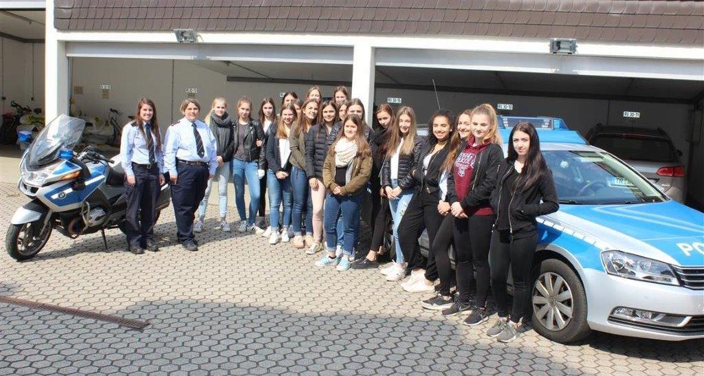 girlsday bei der polizei saarburg - Bewerbung Polizei Saarland
