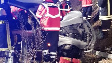 Photo of Schwerer Verkehrsunfall auf der B406 bei Sinz