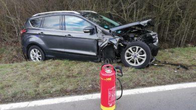 Photo of Unfall auf der L46 bei Herforst