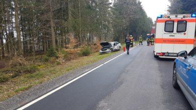Photo of Verkehrsunfall im Begegnungsverkehr – eine leichtverletzte Person