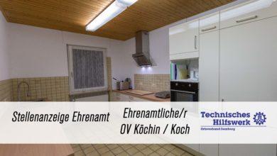 Photo of Ehrenamtliche/r OV Köchin / Koch im THW Saarburg gesucht