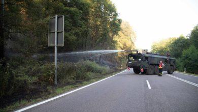 Photo of Waldbrand zwischen Mettlach und Orscholz