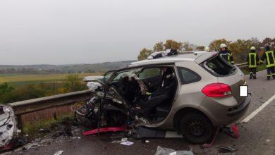Photo of Verkehrsunfall mit zwei schwerverletzten Fahrzeugführerinnen im Bereich B 419 zwischen Palzem und Wincheringen