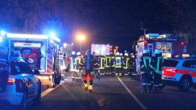 Photo of Schwerer Verkehrsunfall mit vier Verletzten
