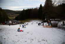 Photo of Erster Rodelspass in der Prümer Wolfsschlucht