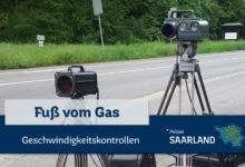 Photo of Geschwindigkeitskontrollen im Saarland Ankündigung der Kontrollörtlichkeiten und -zeiten