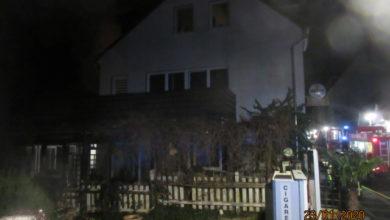 Photo of Brand einer Gaststätte