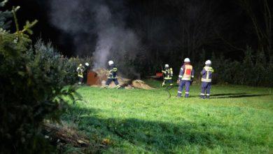 Photo of Neujahrsmorgen – Gartenhaus brennt in Ayl nieder