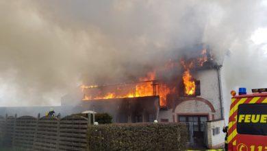 Photo of Großbrand im Zemmer-Rodt – Gebäude brennt nieder