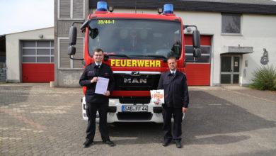 Photo of Feuerwehr verteilt Malbücher gegen Corona-Langeweile