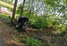 Photo of Pkw-Fahrerin nach Unwohlsein mit Pkw verunfallt