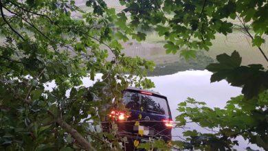 Photo of PKW in die Mosel gefahren