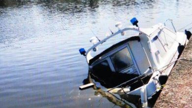Photo of Einsatzboot der Wasserschutzpolizei gekentert