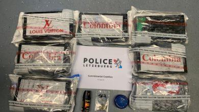 Photo of Kokainkurier in Luxemburg gefasst.