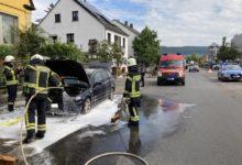 Photo of Fahrzeugbrand- BMW nicht mehr fahrbereit