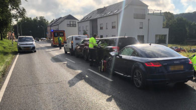 Photo of Verkehrsunfall mit vier Fahrzeugen