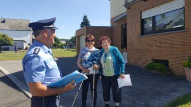Photo of Gern gesehen bei den Bürgern und für die gute Sache unterwegs: Polizisten auf Streife in Morbach