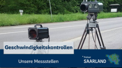 Photo of Geschwindigkeitskontrollen im Saarland  30. KW 2020