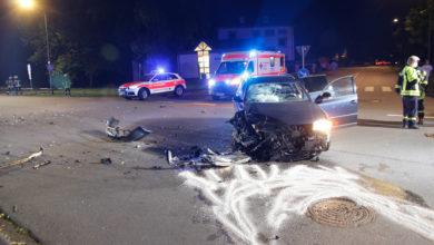 Photo of Verkehrsunfall mit sechs Verletzten.