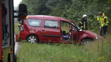 Photo of Unfall auf der B407 bei Mandern