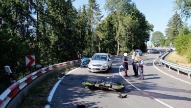 Photo of 17 jähr. Motorradfahrer wird schwer verletzt.