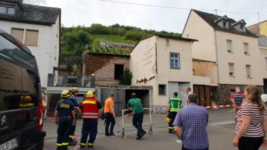 Photo of Hauswand eines Nebengebäudes in Reil drohte einzustürzen – THW muss Obergeschoss komplett abreißen. (Video)