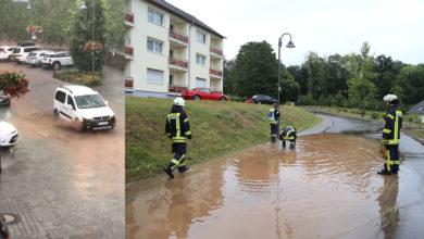 Photo of Unwetter über Saarburg
