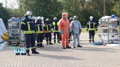 Photo of Brand- und Katastrophenschutz führte eine Dekontaminationsübung durch. Video!