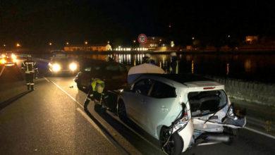 Photo of Unfall auf der B419 bei Wellen