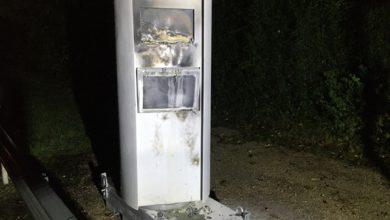 Photo of Unbekannte zünden Geschwindigkeitsmessanlage an