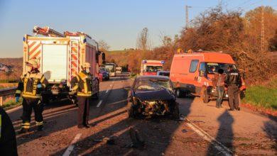 Photo of Schwerer Unfall mit drei beteiligten PKW und einem schwer Verletzten zwischen Oberbillig und Temmels.