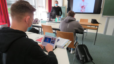 Photo of Digitales Lernen an der Pflegefachschule des Kreiskrankenhauses Saarburg