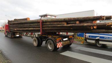 Photo of Polizei stoppt überladenen Holztransport auf der B50 (neu) – über 16 Tonnen zu viel geladen