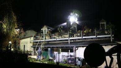Photo of Kaminbrand breitet sich aus – Großeinsatz in Nittel