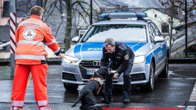 Photo of Polizei Wittlich spendet an BRH Rettungshundestaffel Eifel-Mosel e.V.