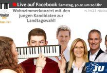 """Photo of """"Kultur und Musik in Zeiten von Corona"""". Gestreamt wird die Veranstaltung auf der Facebookseite der Jungen Union im Bezirk Trier."""