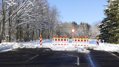 Photo of Sperrung der K75 Richtung Rösterkopf