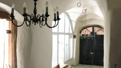 Photo of Baufortschritt am Haus Warsberg – Bald wieder freie Sicht auf das Verwaltungsgebäude