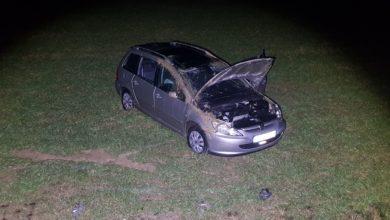 Photo of Verkehrsunfall mit PKW-Überschlag