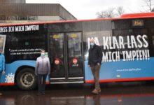 Photo of Zwei Busse verstärken Werbekampagne fürs Impfen