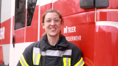 Photo of Erste Frau in der Trierer Berufsfeuerwehr