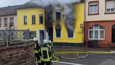 Photo of Wohnhausbrand in Freudenburg – 5 Verletzte